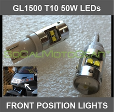 FRONT POSITION LIGHTS GL1500  (CREE LED - 50W) PAIR $44.95