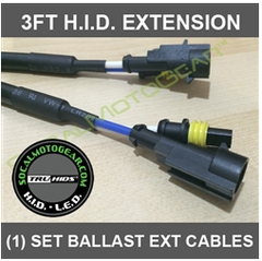 HID Ballast Extension Cable Set (40inches) over 3ft $40.00