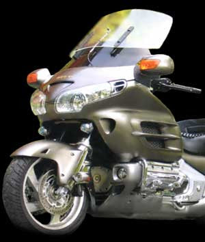 "GL1800 ST Windbender Kit: 11"" Top Shield, Clear $355.27"