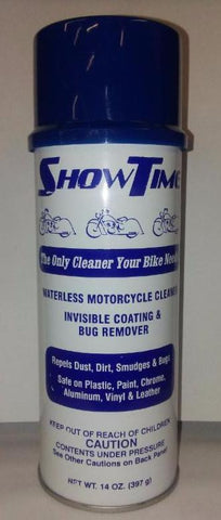 SHINETIME (formerly SHOWTIME) Waterless Motorcycle Cleaner    $17.50