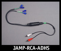 J&M Isolated RCA Input Amplifier Adapter Harness for Harley HK Radio  $79.99