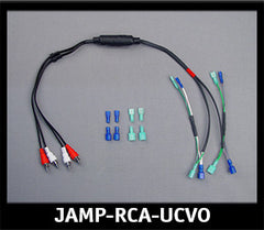 J&M Amp Harness for 06-13 Harley CVO Ultra to Connect RCA Input  $119.99