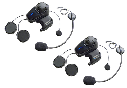 SMH10 Motorcycle Bluetooth Headset/Intercom with Universal Microphone Kit Dual Pack  $399.00