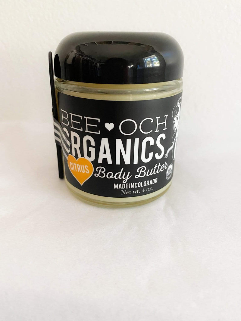 BEE-OCH Body Butter USDA Organic Ultimate Skin Repair Phoenix and Willow