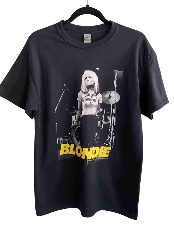 Debbie Harry of Blondie Camp Funtime Black T-shirt | Phoenix + Willow