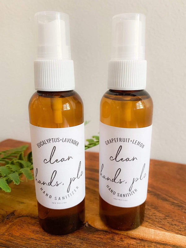 Chanvre Naturals Moisturizing Hand Saniter Spray Phoenix and Willow