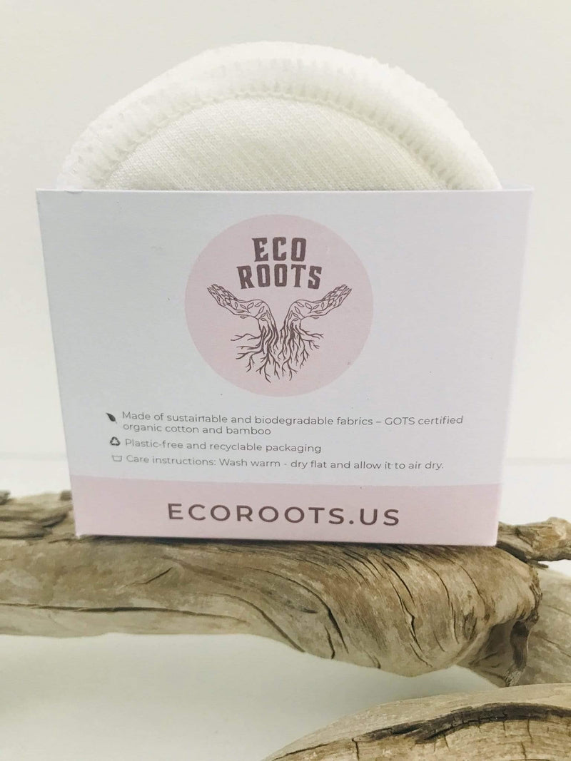 EcoRoots Organic Reusable Cotton Rounds Phoenix and Willow