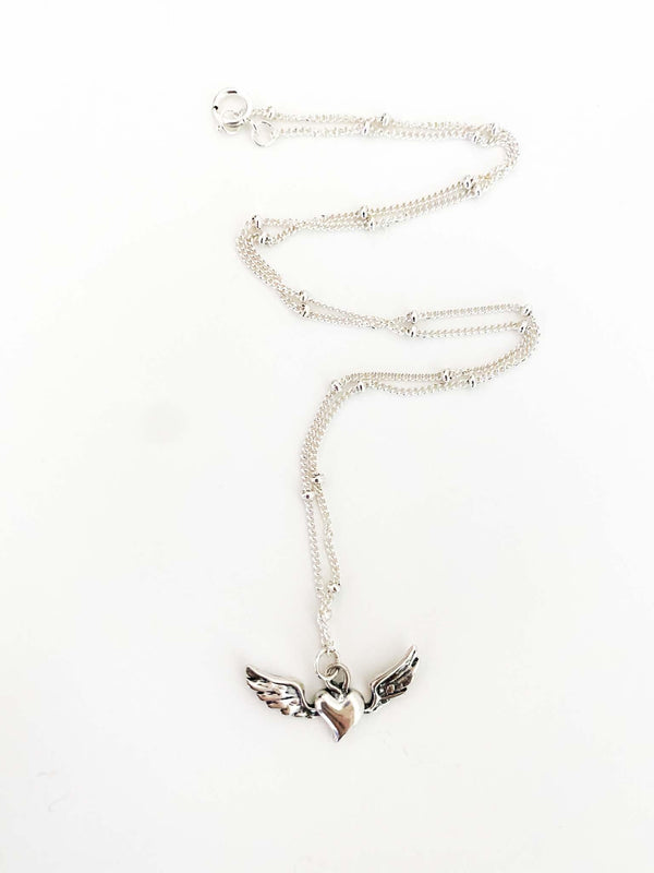Stevie Nicks Inspired Sterling Silver Wild Heart Tour Boho Style Necklace