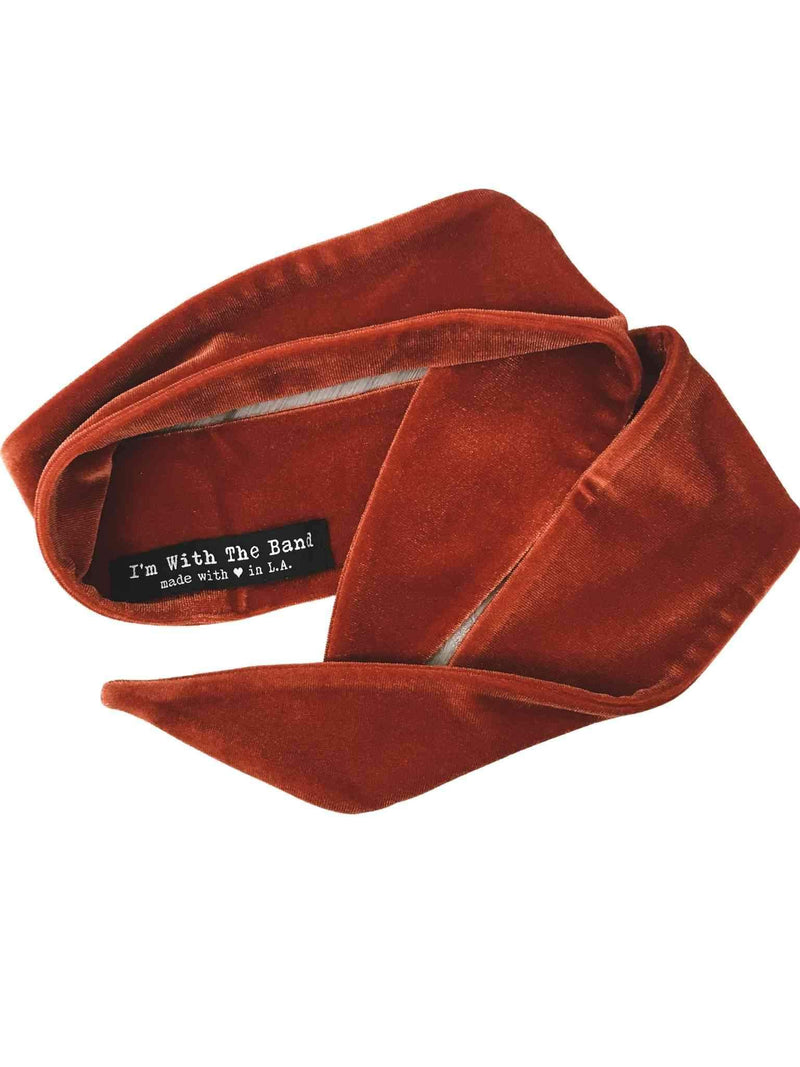 Velvet Hair Scarf Neck Scarf by I'm With the Band