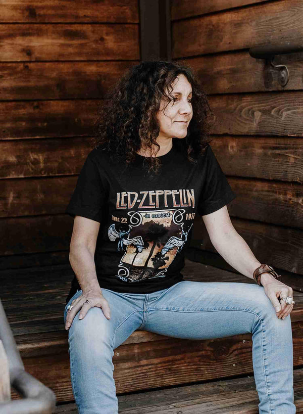 Led Zeppelin Inglewood Classic Rock Tshirt | Phoenix + Willow
