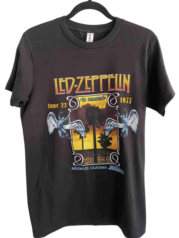 Led Zeppelin Inglewood Slim Fit Classic Rock T-Shirt