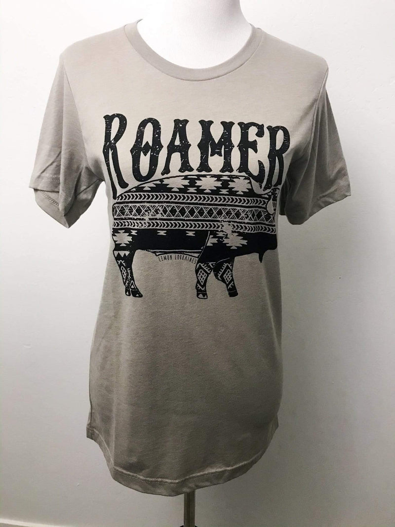 Lemon Lorraine's Roamer Buffalo Graphic Tee Phoenix and Willow