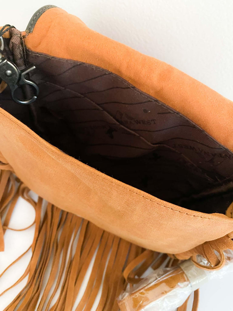 Montana West Leather Fringe Boho Style Crossbody Purse | Phoenix + Willow