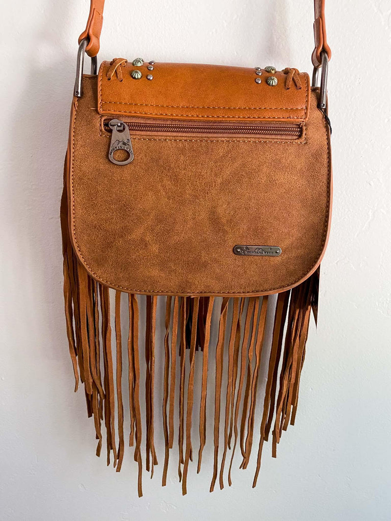 Montana West Vegan Leather Fringe Crossbody Purse Phoenix and Willow