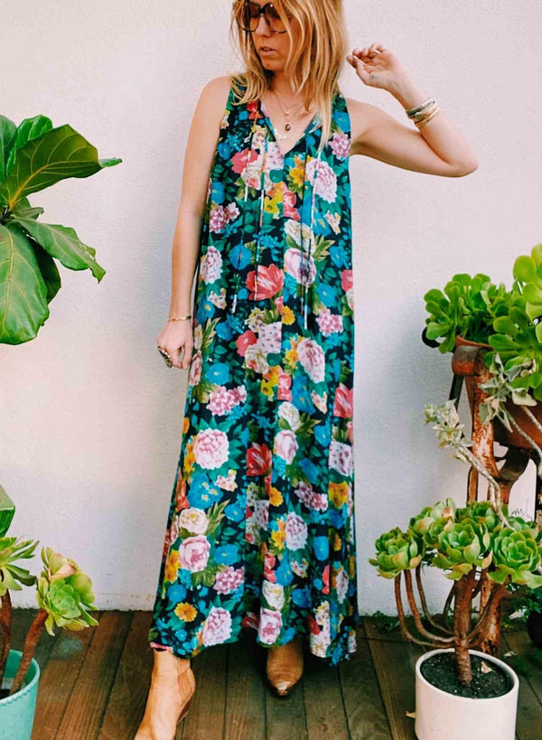 Novella Royale The Maye Dress in Rose Garden Maxi Dress | Phoenix + Willow