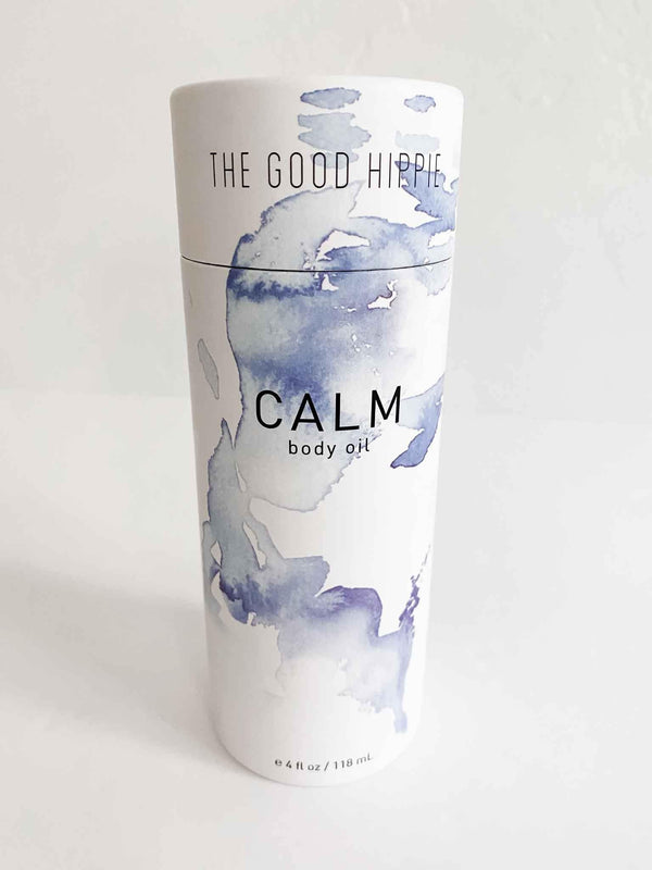 The Good Hippie Calm Moisturizing All Natural Vegan Body Oil | Phoenix + Willow
