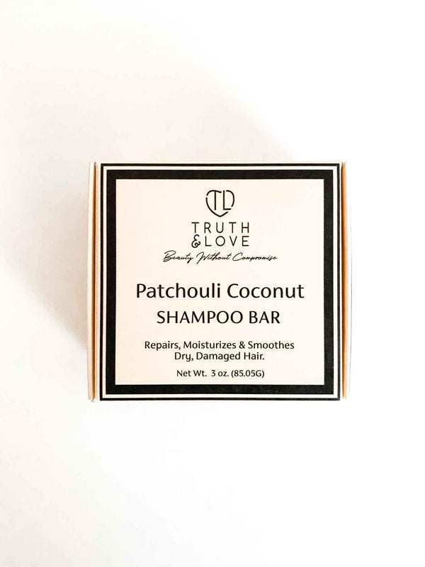Truth & Love Beauty Patchouli Coconut Super Moisturizing Shampoo Bar | Phoenix + Willow