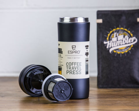 Travel Press black