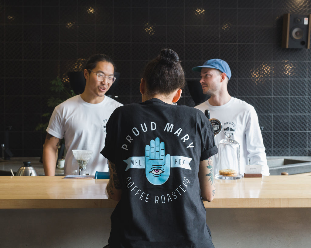 PMC Hand T-Shirt - Proud Mary Coffee Melbourne