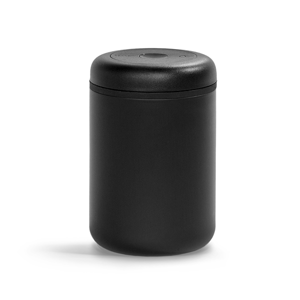 Atmos Vacuum Canister - 1.2L Matte Black - Proud Mary Coffee Melbourne