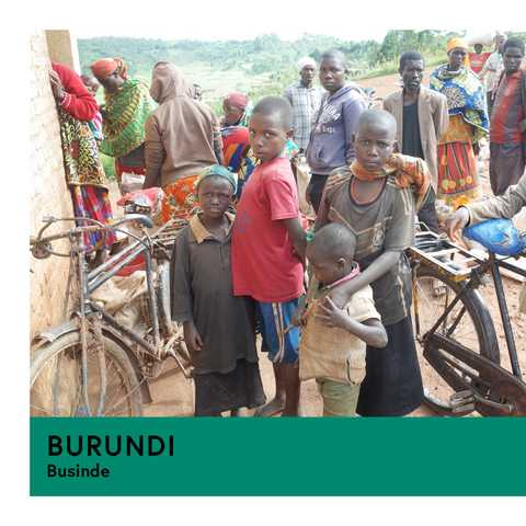 Burundi | Businde | Red Bourbon | Natural | Espresso | 250g