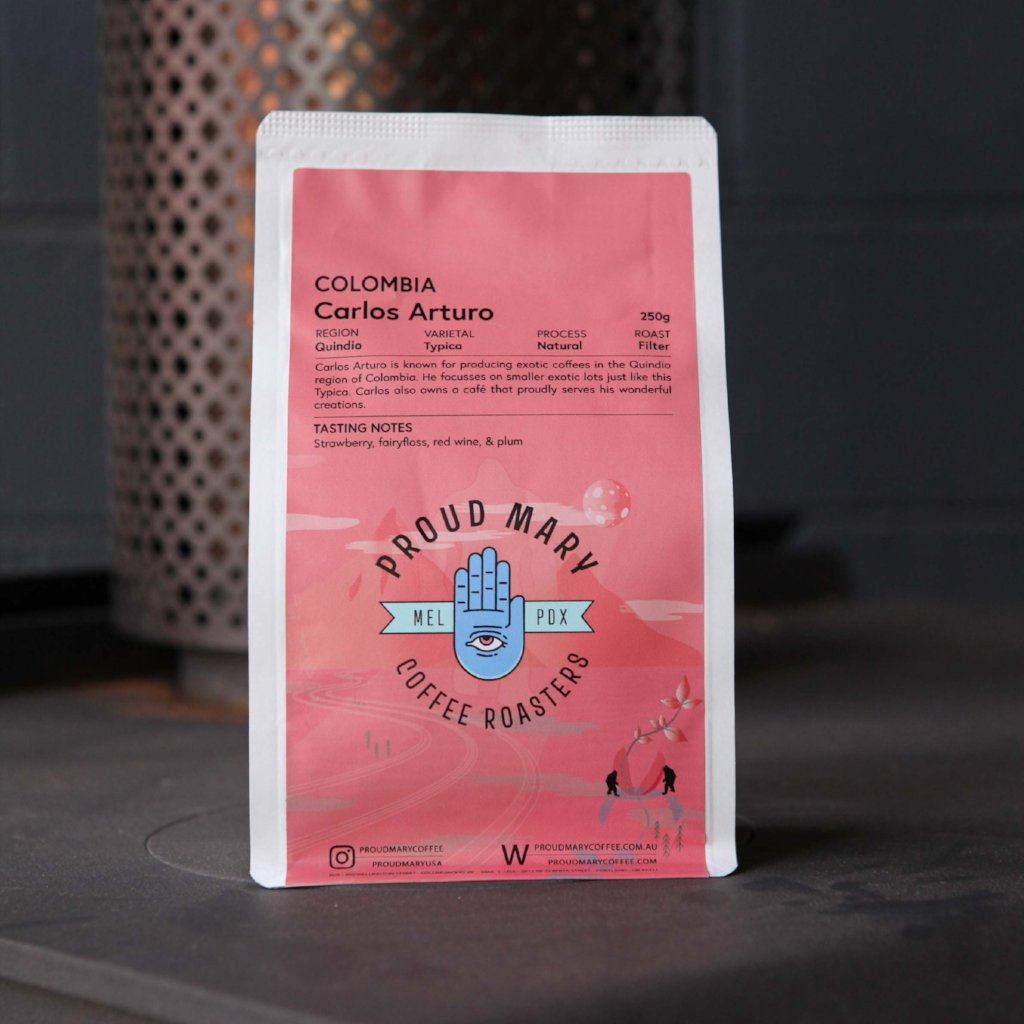 Colombia | Carlos Arturo | Typica | Natural | Filter | 250g - Proud Mary Coffee Melbourne