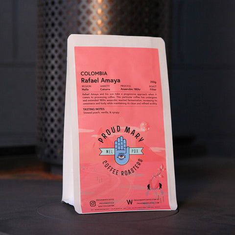 Colombia | Rafael Amaya | Caturra | Anaerobic Washed 180hr | Filter | 250g