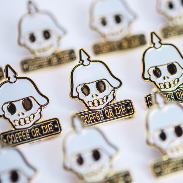 PMC Coffee or Die Pins - Proud Mary Coffee Melbourne