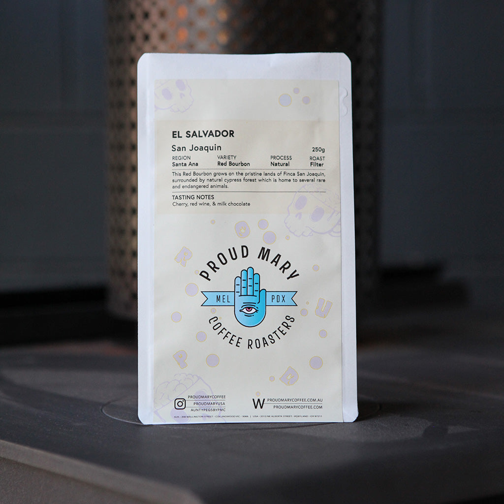 El Salvador | San Joaquin | Red Bourbon | Natural | Filter | 250g - Proud Mary Coffee Melbourne