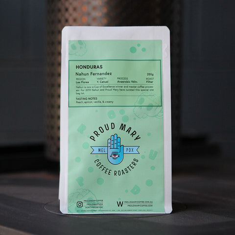 Honduras | Nahun Fernandez | Yellow Catuai | Anaerobic Honey 96hr | Filter | 250g