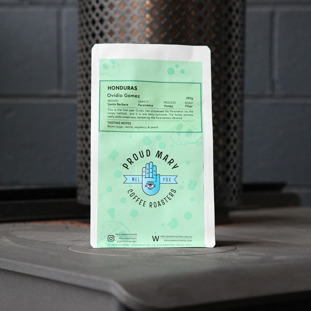 Honduras | Ovidio Gomez | Parainema | Honey | Filter | 250g - Proud Mary Coffee Melbourne
