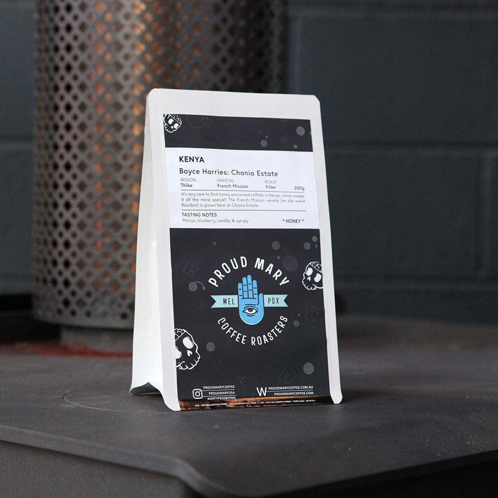 Kenya | Chania Estate | French Mission | Honey | Filter | 200g - Proud Mary Coffee Melbourne