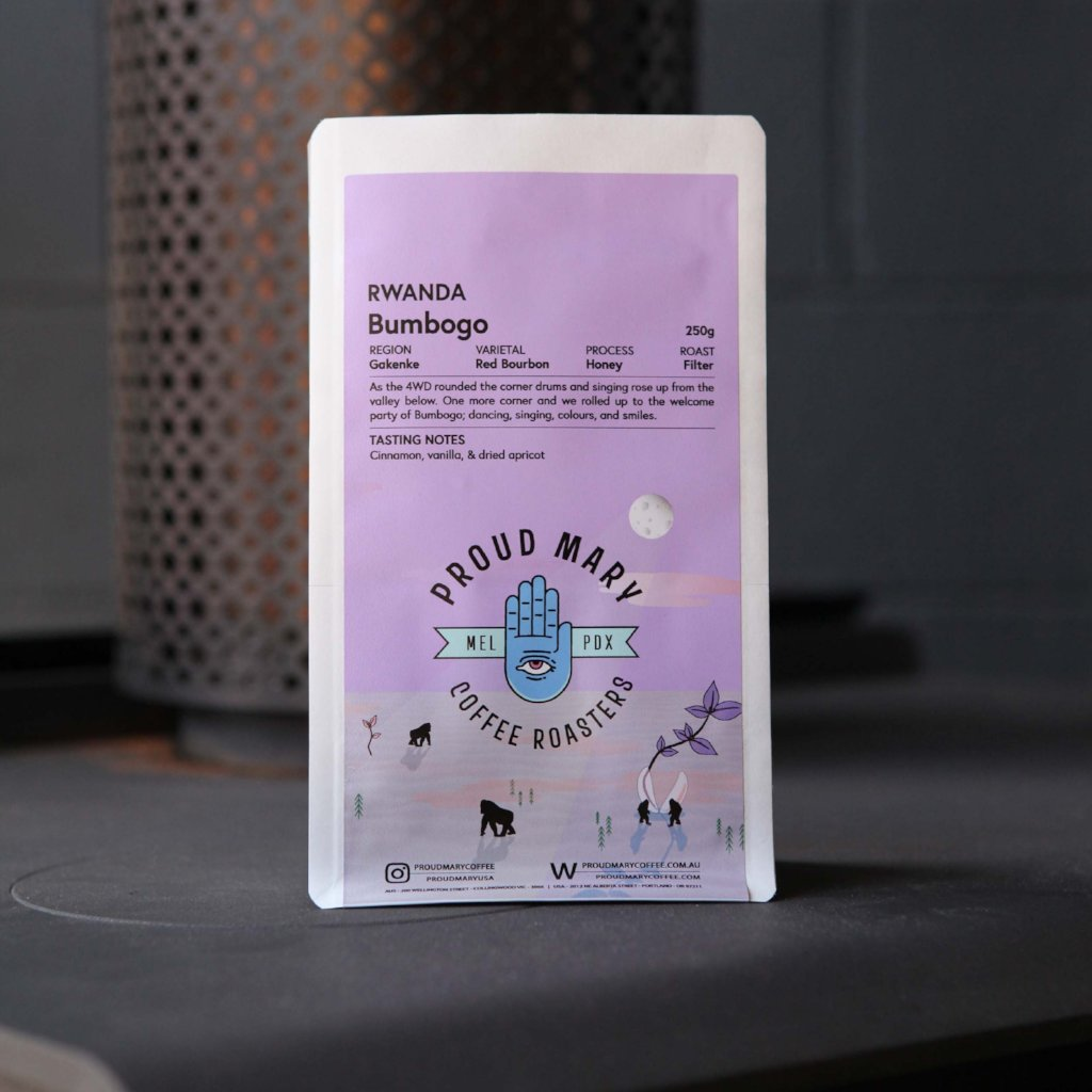 Rwanda | Bumbogo | Red Bourbon | Honey | Filter | 250g - Proud Mary Coffee Melbourne