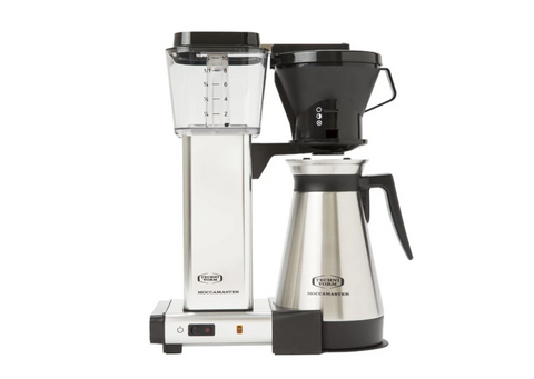 Moccamaster Thermal 1.25 Litre with Thermal Carafe Polished Silver