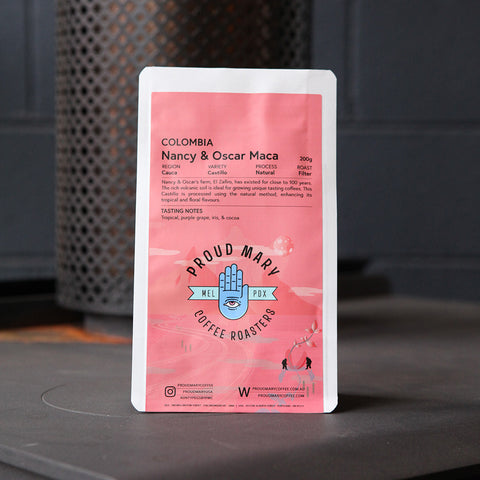 Colombia | Nancy & Oscar Maca | Castillo | Natural | Filter | 200g