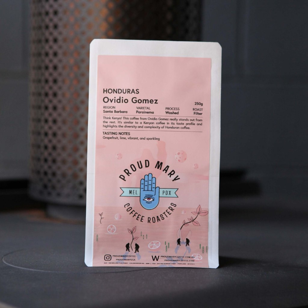 Honduras | Ovidio Gomez | Parainema | Washed | Filter | 250g - Proud Mary Coffee Melbourne
