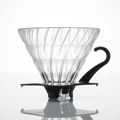 V60 Glass Dripper 02 (Black) - Proud Mary Coffee Melbourne