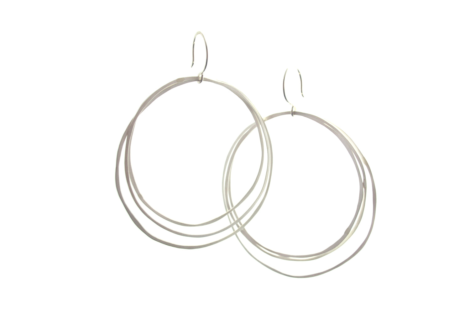 Tripple Hoop Earrings | Olivia de Soria