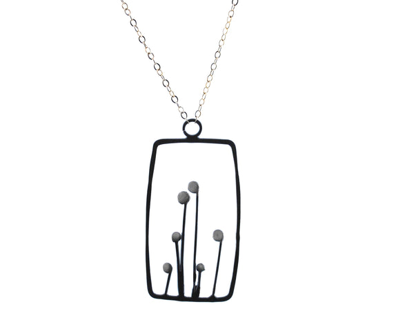 Square Sprout Necklace | Olivia de Soria