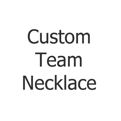Custom GameDay Necklace - Sterling Silver