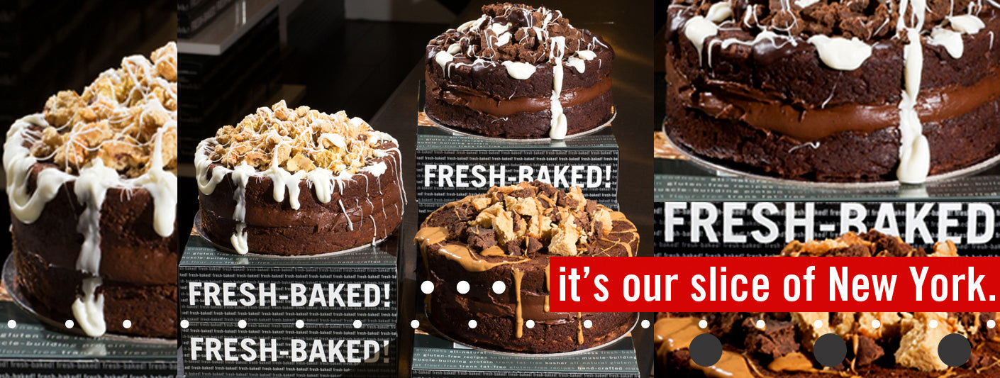 The Protein Bakery Celebration Cake Collection