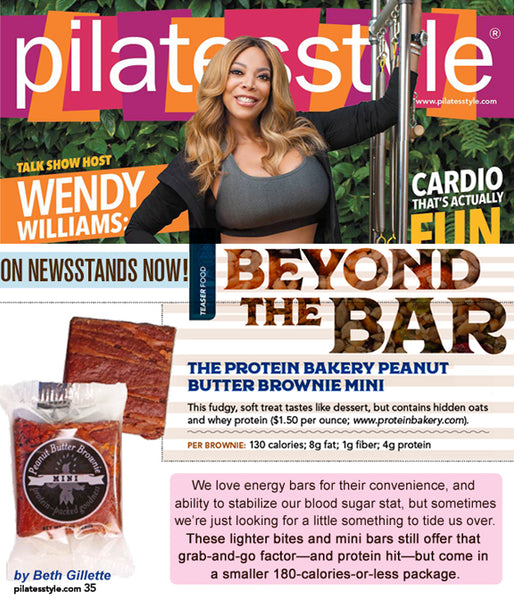 Beyond the Bar - The Protein Bakery Peanut Butter Brownie Mini