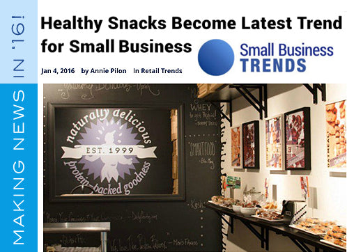 The Protein Bakery on Small Business Trends