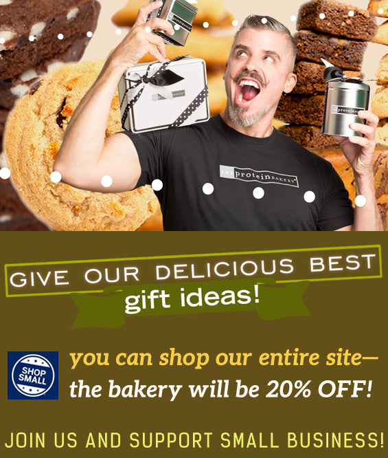 You can shop our entire site-the bakery will be 20% off!