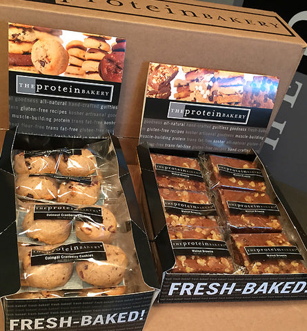 Protein Bakery Cookie and Brownie/Blondie Bulk Boxes are here!