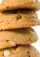Peanut Butter White Chip Cookie