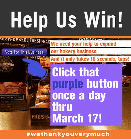 Click to Vote for The Protein Bakery!