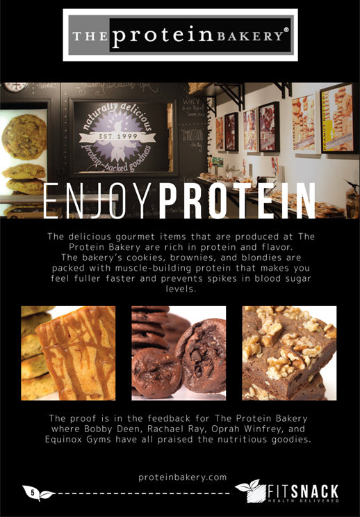 The Protein Bakery Teams Up with Fit Snack