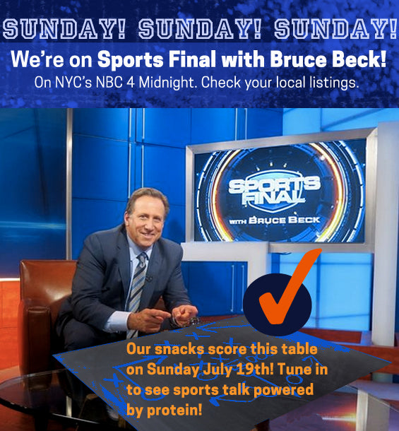 We're on NBC's Sports Final with Bruce Beck!