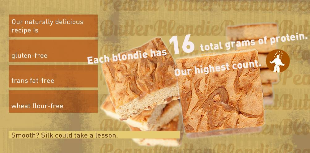 The Protein Bakery Peanut Butter Blondies are back!